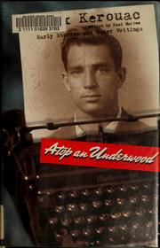 Cover of: Atop an Underwood | Jack Kerouac