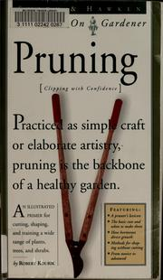 Cover of: Pruning by Robert Kourik