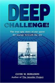 Cover of: Deep Challenge | Clyde W. Burleson