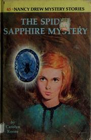 Cover of: The spider sapphire mystery | Carolyn Keene