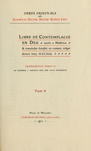 Cover of: Obres doctrinalis | Ramon Llull
