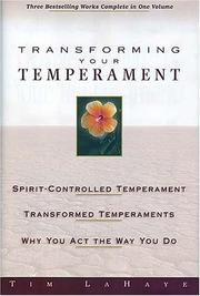 Cover of: Transforming Your Temperament | Tim F. LaHaye