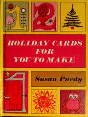 Holiday cards for you to make