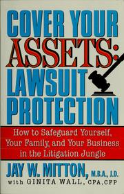 Cover of: Cover your assets by Jay Mitton