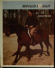 Cover of: Ronald Reagan, an all-American | June Behrens
