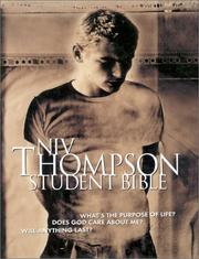 Cover of: Thompson Student Bible-NIV | Bruce B. Barton