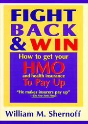 Cover of: Fight back & win | William M. Shernoff
