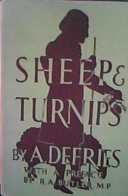 Cover of: Sheep and turnips | Amelia Dorothy Defries