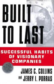 Cover of: Built to Last by Collins, James C.