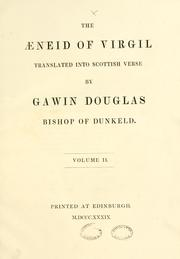 Cover of: The Aeneid of Virgil | Bannatyne Club (Edinburgh, Scotland)