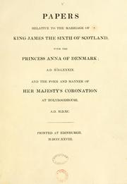 "Cover of: Papers relative to the Regalia of Scotland. [Including a reprint of ""A true account of the preservation of the Regalia of Scotland .. 