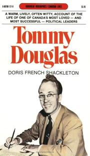 Cover of: Tommy Douglas (Goodread Biographies) | Doris French Shackleton