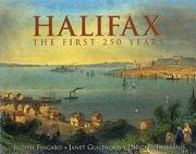 Cover of: Halifax by Judith Fingard