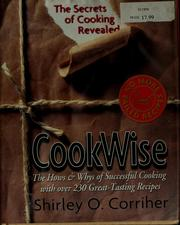 Cover of: Cookwise by Shirley O. Corriher