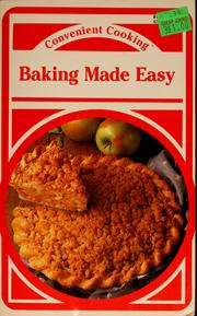 Cover of: Baking Made Easy by Wendy Lazor