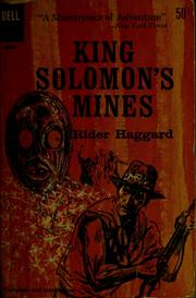 Cover of: King Solomon's mines | H. Rider Haggard