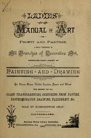 Cover of: Ladies' manual of art by