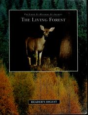 Cover of: The living forest | David Burnie