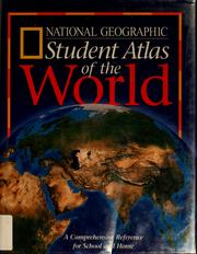 Cover of: Student atlas of the world | National Geographic Society (U.S.)