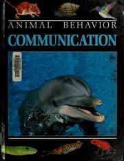 Cover of: Communication | David Burnie