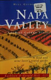 Cover of: Napa Valley by Kathleen Hill