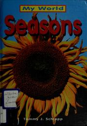 Cover of: Seasons by Tammy J. Schlepp