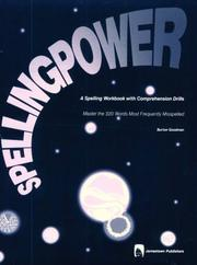 Cover of: Spelling Power | Burton Goodman