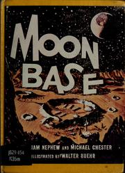 Cover of: Moon base by William Nephew