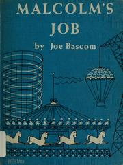 Cover of: Malcolm's job | Joe Bascom
