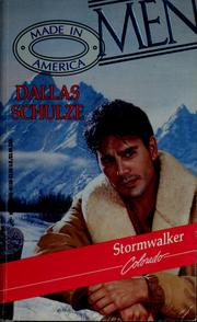 Cover of: Stormwalker by Dallas Schulze