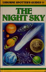 Cover of: Spotter's guide to the night sky | Nigel Henbest