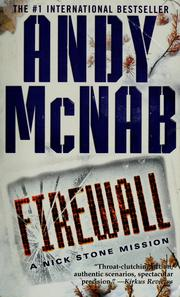 Cover of: Firewall by Andy McNab
