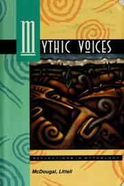 Cover of: Mythic voices by Alison Dickie