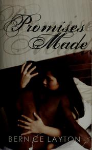 Cover of: Promises made | Bernice Layton