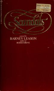 Cover of: Scandals | Barney Leason