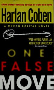 Cover of: One false move | Harlan Coben