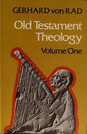Cover of: Old Testament theology by Gerhard von Rad