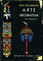 Cover of: Arte decorativa extraeuropea by Eva Hülsmann