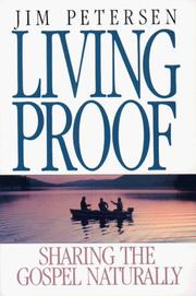 Cover of: Living proof | Jim Petersen