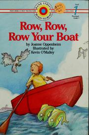 Cover of: Row, row, row your boat | Joanne Oppenheim