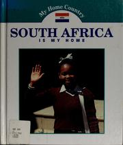 Cover of: South Africa is my home | Jamie Daniel