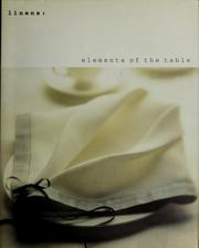 Cover of: Linens by Sara Slavin