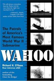 Cover of: Wahoo by Richard O'Kane