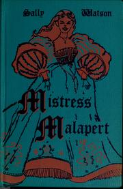 Cover of: Mistress Malapert by Sally Watson