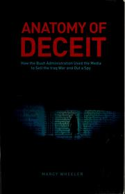 Cover of: Anatomy of deceit by Marcy Wheeler
