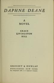 Cover of: Daphne Deane by Grace Livingston Hill Lutz, Grace (Livingston) Hill