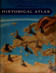 Cover of: Hammond historical atlas | Hammond Incorporated