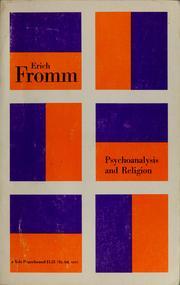 Psychoanalysis and religion