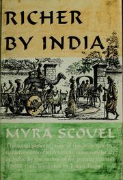 Cover of: Richer by India | Myra Scovel