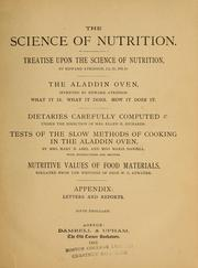 Cover of: The science of nutrition | Atkinson, Edward